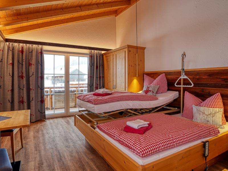 Pflegezimmer und Digitalisierung/Technik | Berggasthof Sonne in Sonthofen